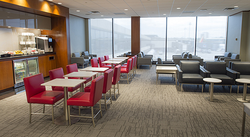 Air Canada Maple Leaf Lounge, New York  Newark International