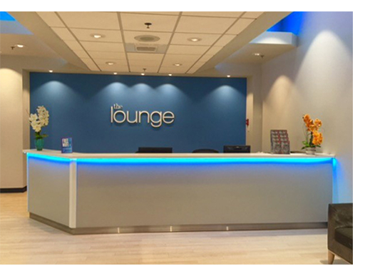 The Lounge at Boston Logan International