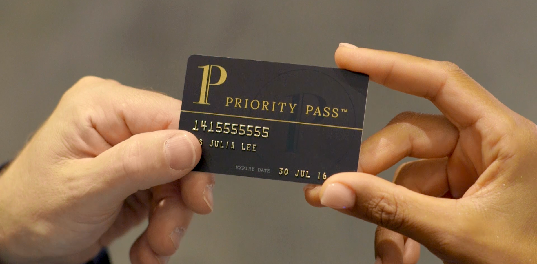 Using Your Priority Pass Card
