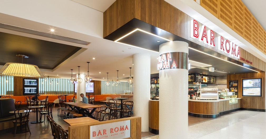 Bar Roma Airport Restaurant and Priority Pass