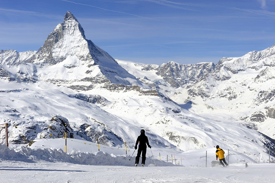 You can't miss the dominance of the Matterhorn as you explore Zermatt.