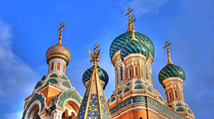 A Russian Basilica. One of the grandest tourist attractions