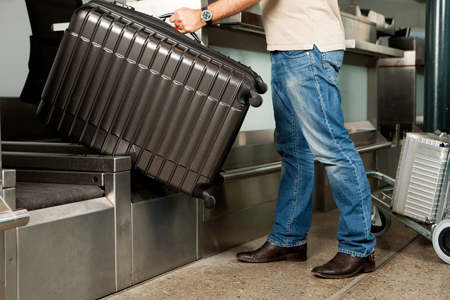 No frills airlines mean checked bags come at an extra cost
