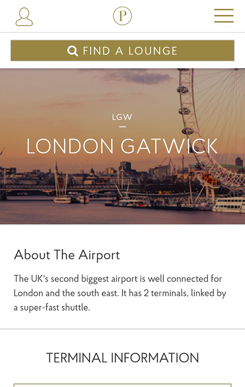 Our airport guides provide information on what to expect