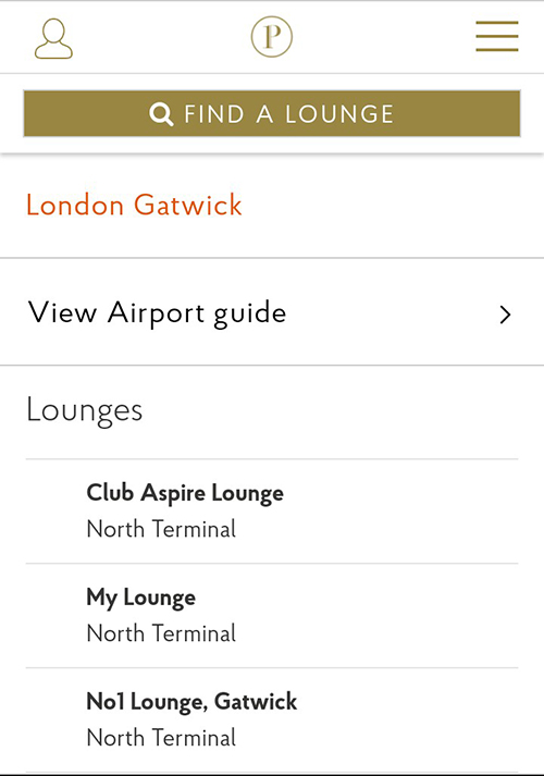 You can search by terminal, or find out the best transport options to get there