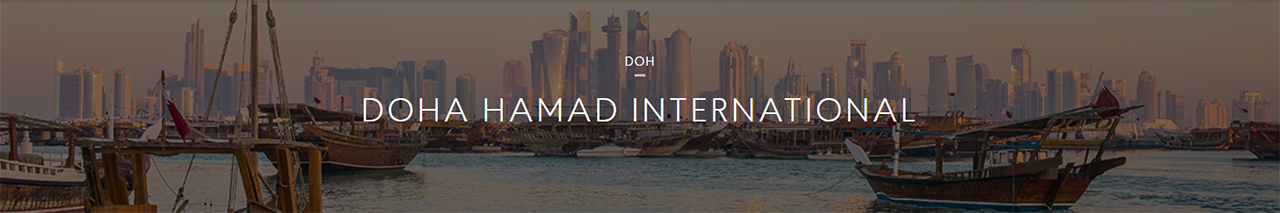 Construction on Doha Hamad International Airport was completed in 2014
