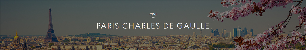 Paris Charles de Gaulle is the largest international airport in France
