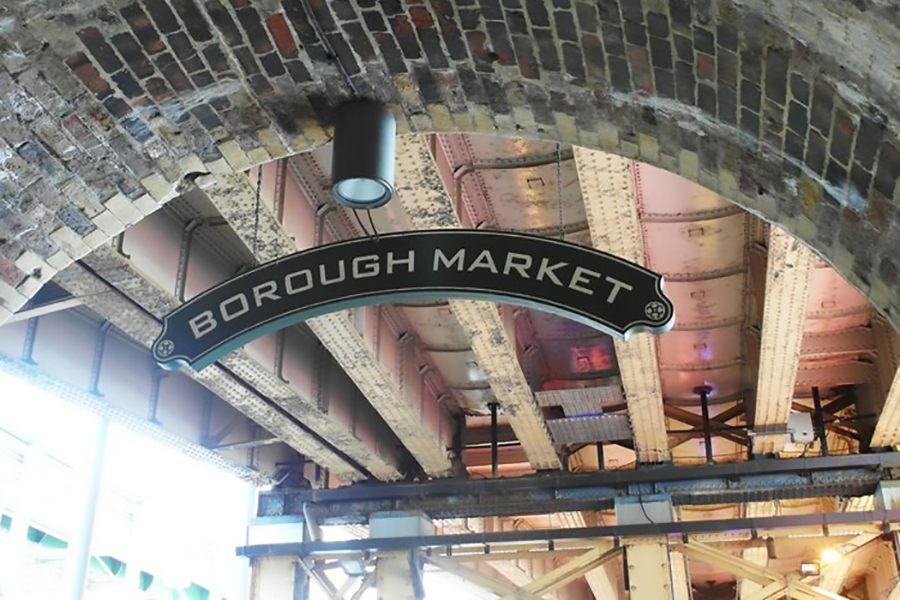 Borough Market, London has been trading since the 12th century