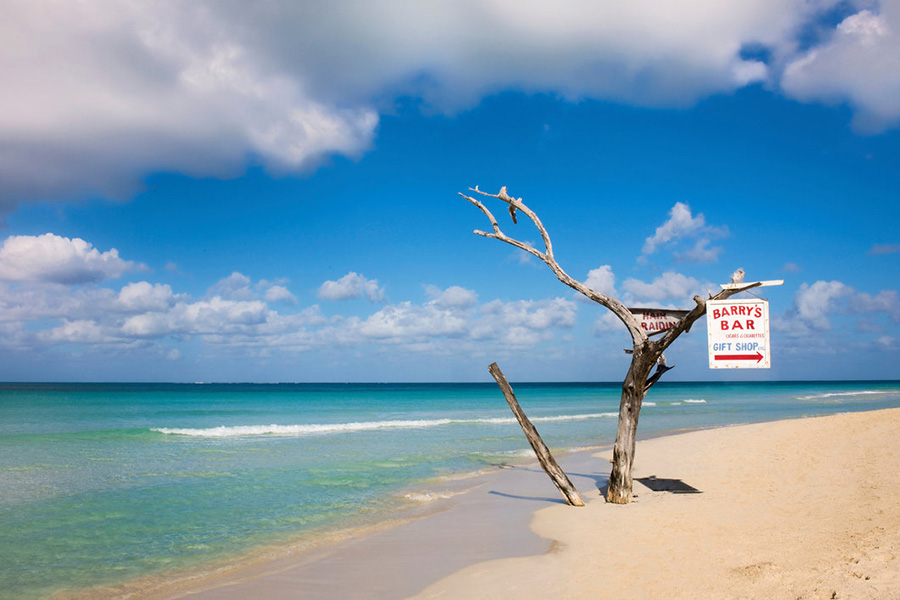 The seven mile beach, Negril is deserted for many parts. Meaning it's quite exclusive.