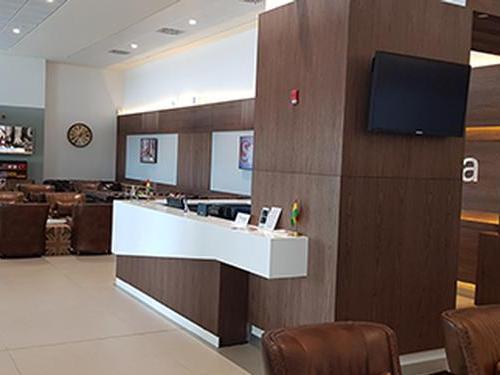 Sanbra Priority Lounge, Accra Kotoka International, Ghana