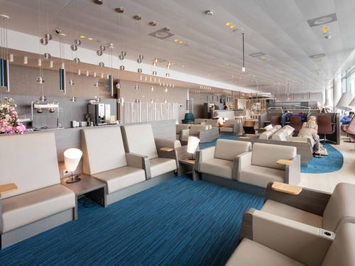 Servisair Lounge (No .41), Amsterdam Schiphol