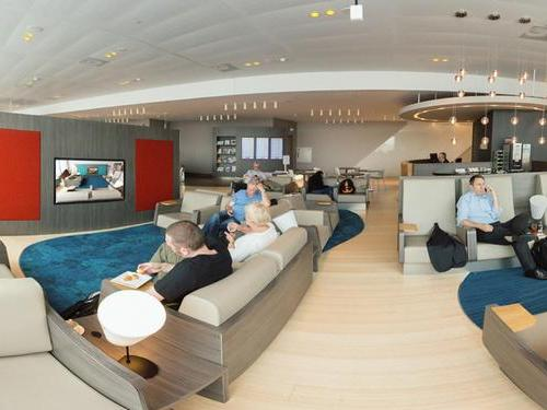 Aspire Lounge (No.41), Amsterdam Schiphol