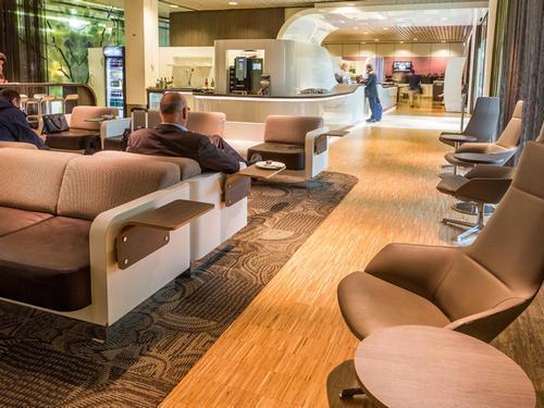 Servisair Lounge (No .26), Amsterdam Schiphol