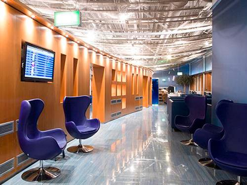 Skyserv Melina Merkouri Lounge, Athens International, Greece