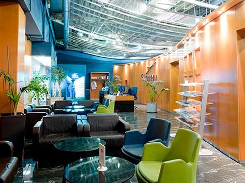 Skyserv Aristotle Onassis Lounge, Athens International, Greece