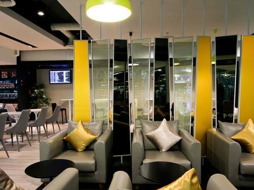 Louis' Tavern CIP First Class (Conc C) Lounge, Bangkok Suvarnabhumi