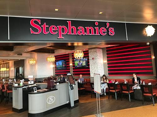 Stephanie's, Boston MA Logan International, USA