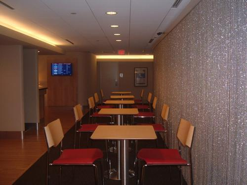 table seating - air france lounge boston logan