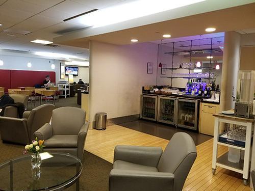 Air France Lounge, Boston MA Logan International, USA