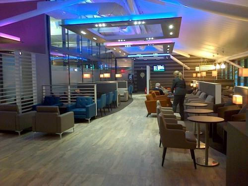 Aspire Lounge by Servisair, Bristol International