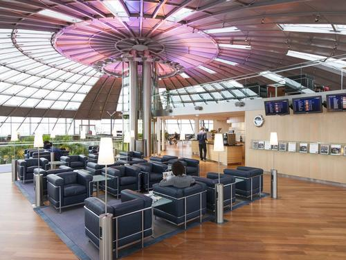Euroairport Skyview Lounge, Basel-Mulhouse Euroairport