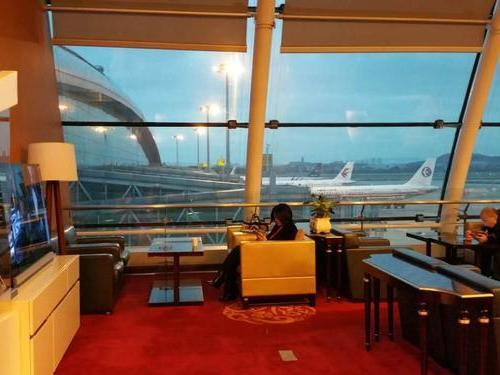 China Eastern First Class Lounge, Guangzhou Baiyun International
