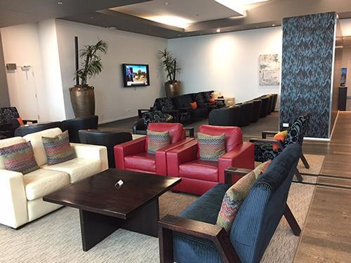 Manaia Lounge, Christchurch Intl, New Zealand