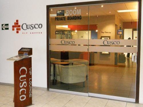 Cusco VIP Lounge Entrance