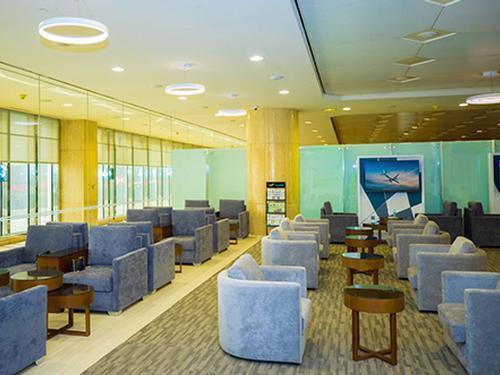 naSmiles Lounge, Dammam King Fahad International, Saudi Arabia