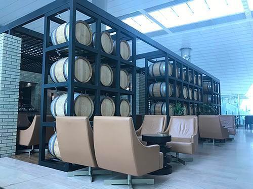 Ahlan Lounge at B, Dubai Intl, UAE