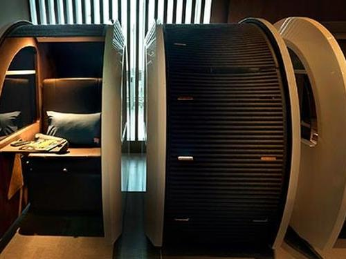 Sleep N Fly - The New Airport Sleep Concept by YAWN, Dubai International