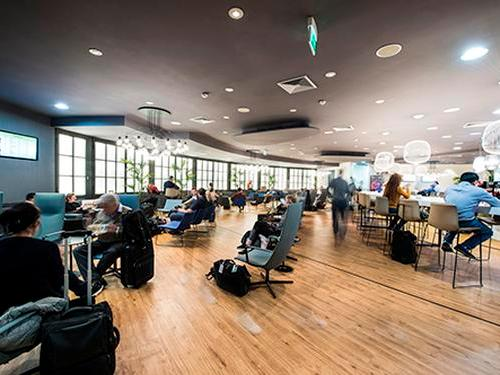 Passenger Lounge, Rome Fiumicino, Italy
