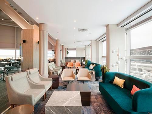Plaza Premium Lounge, Rome Fiumicino, Italy