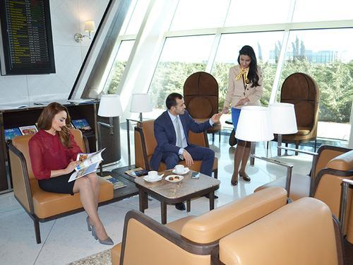 Salam Lounge, Baku Heydar Aliyev International