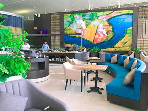 Song Hong Business Lounge, Hanoi Noi Bai Intl, Vietnam