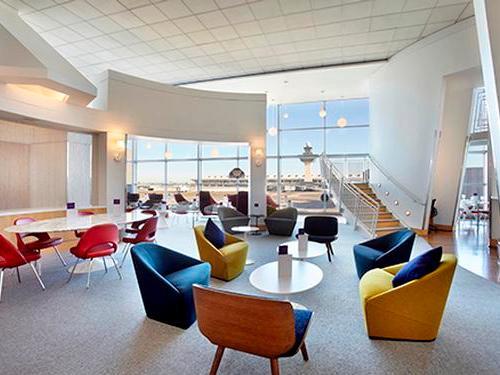 Virgin Atlantic Clubhouse, Washington DC Dulles Intl, USA