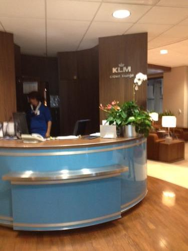 KLM Crown Lounge, Houston TX Intercontinental