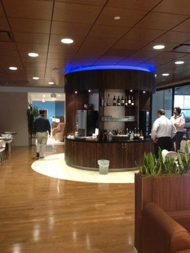 KLM Crown Lounge, Houston TX Intercontinental