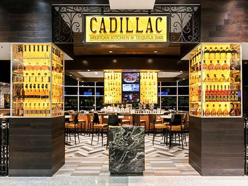Cadillac Mexican Kitchen & Tequila Bar, Houston TX George Bush Intercontinental, USA
