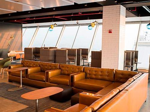 Alaska Lounge, JFK International, New  York, USA