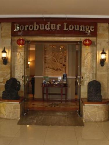 Borobudur Lounge, Yogyakarta Adisucipto Indonesia