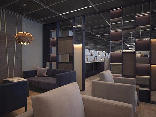 Lounge Grey Wall