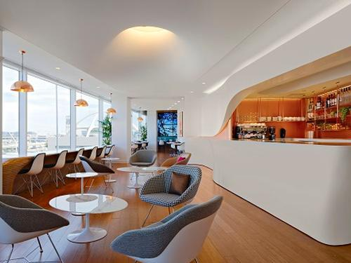 Virgin Atlantic Clubhouse. LAX International, Los Angeles