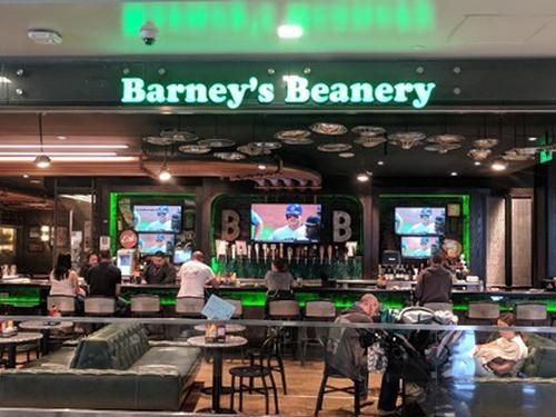 Barney's Beanery, Los Angeles CA, USA