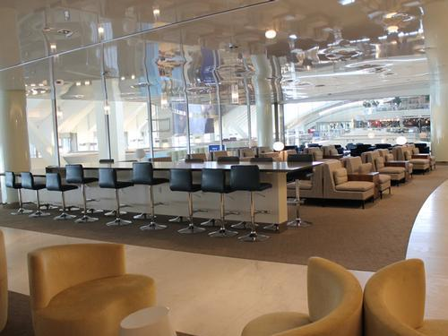 Skyteam Kal Business Class Lounge, Tom Bradley International LAX