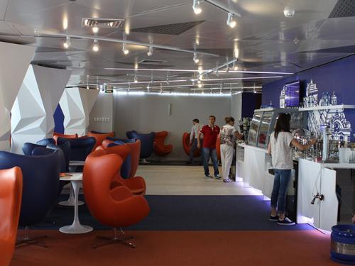 Aeroflot Lounge, St. Petersburg Pulkovo