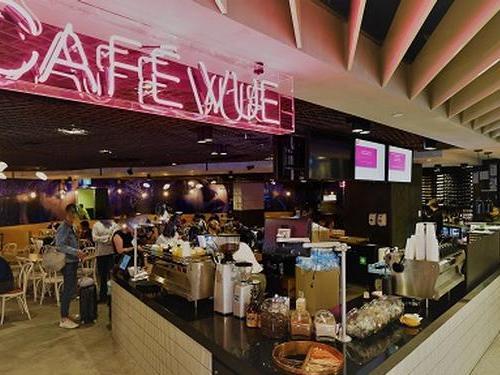Cafe Vue, Terminal 2, Melbourne, Australia