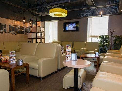 Business Lounge, Moscow Leningradsky Railway, Russia