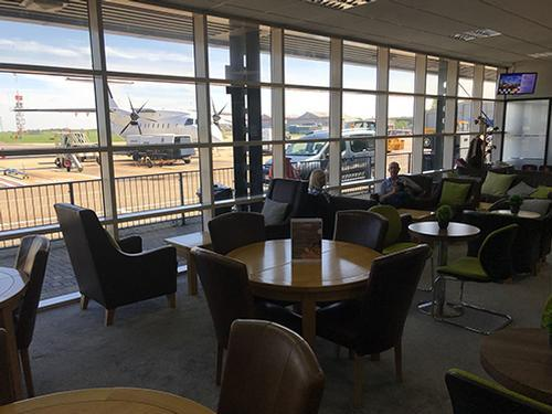 Norwich Airport Executive Lounge, Norwich International, United Kingdom