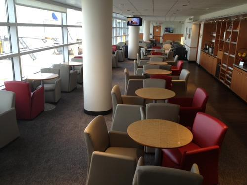 Air France VIP Lounge, Chicago IL O Hare International